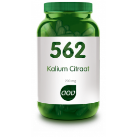 Kalium Citraat (200 mg) - 100 VegCaps - 562