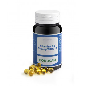 Vitamine D3 75 mcg / 3000 IE grootverpakking - 120 softgels