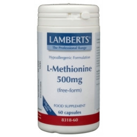 L-Methionine 500 mg - 60vcap