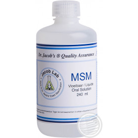 MSM ORAL SOLUTION - 240 ML