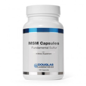 MSM CAPSULES Fundamental Sulfur - 90 Caps