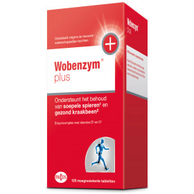 Wobenzym plus 120 tabletten